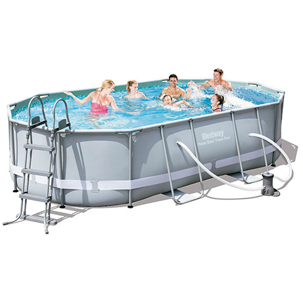 Piscina Bestway Oval Frame 488X305X107