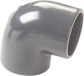 Cotovelo de direção para tubos 50 / 90º