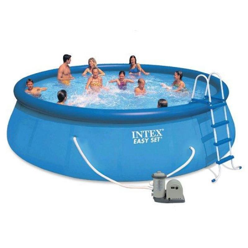 Piscina intex easy set 549 x 122 cm outlet piscinas portugal for Easy piscinas