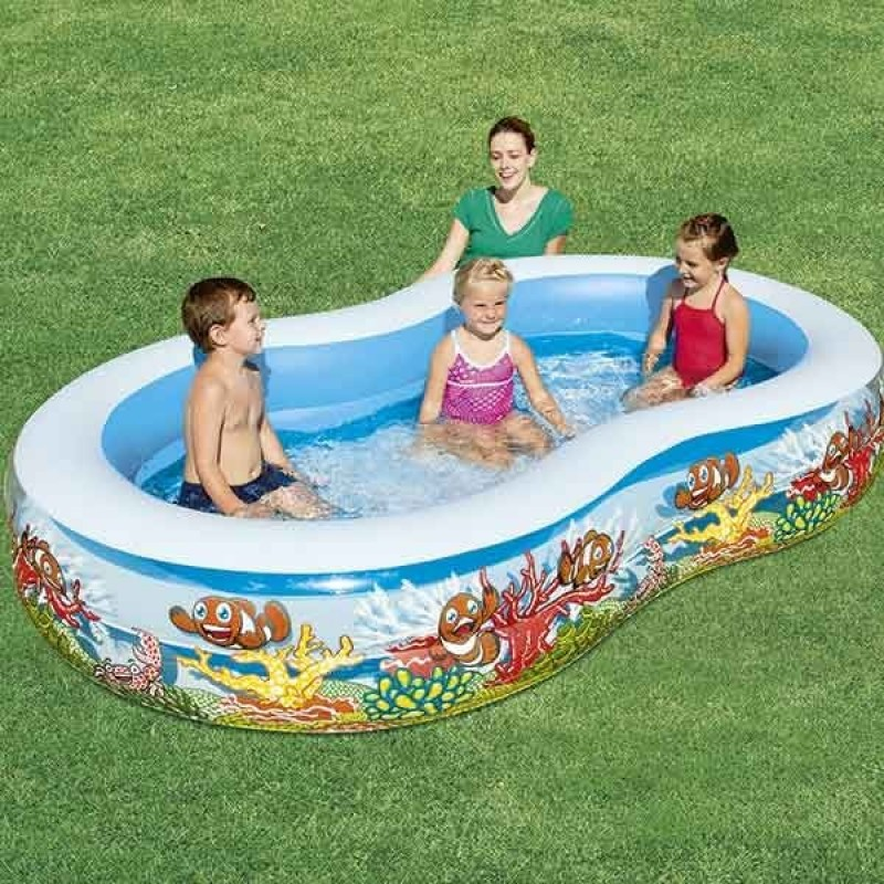 Piscina infantil family fundo marinho outlet piscinas for Oulet piscinas