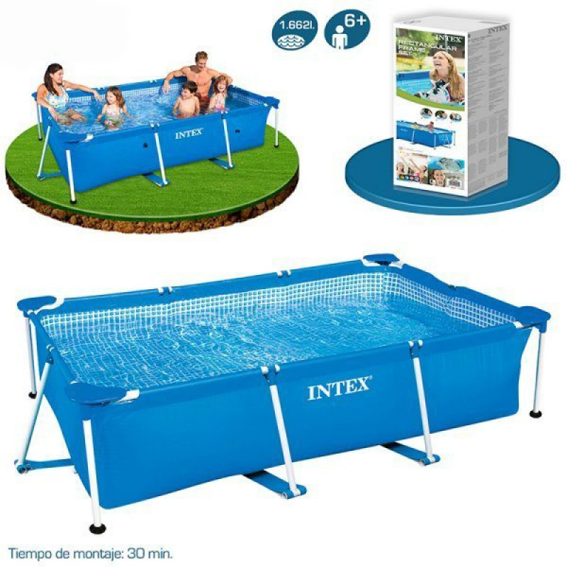 Piscina small frame intex outlet piscinas portugal for Oulet piscinas