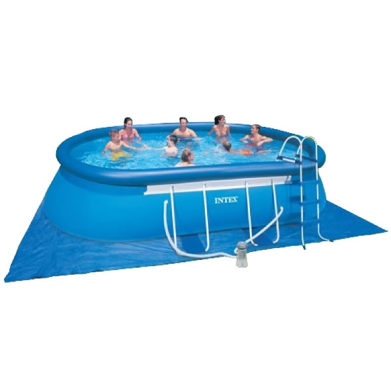 Piscina oval frame intex 549 x 305 x 107 outlet piscinas for Oulet piscinas