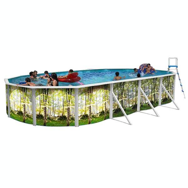 Piscina desmont vel floresta ovalada toi outlet piscinas for Outlet piscinas