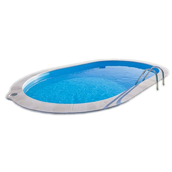 Piscina enterrada gre sumatra oval outlet piscinas portugal for Outlet piscinas