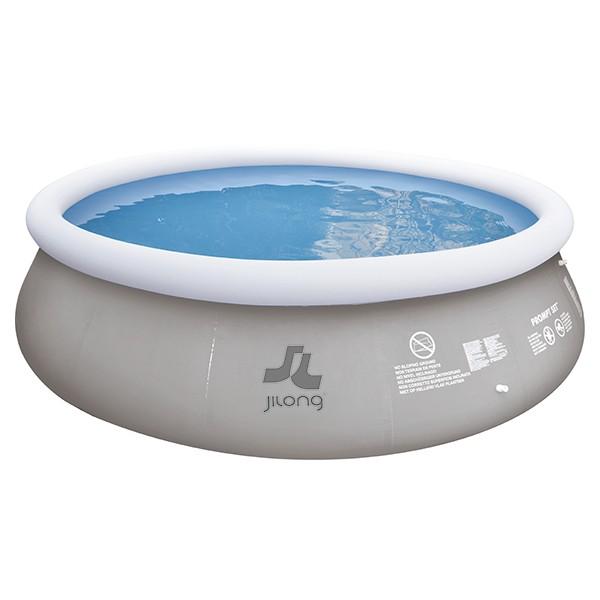 Piscina insufl vel mar n grey 360x80 cm outlet piscinas for Outlet piscinas