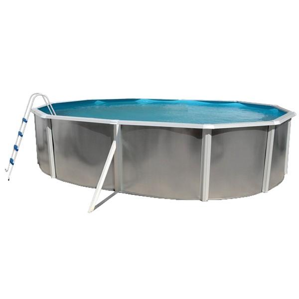 Piscina desmont vel silver lua toi ovalada outlet for Outlet piscinas