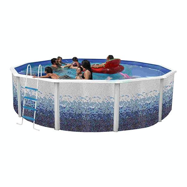 Piscina desmont vel trencadis circular toi outlet for Outlet piscinas