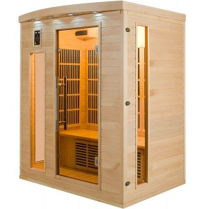Sauna Infravermelhos Apollon 3 Lugares