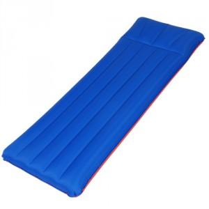 Colchón Individual Campeggio azul y rojo