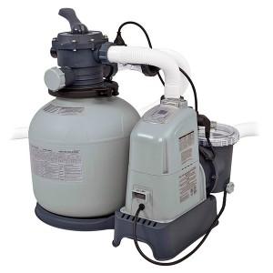 Combo depuradora arena/cloración sal.