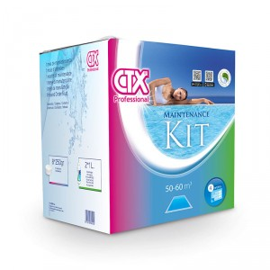 Kit mantenimiento mensual piscina CTX