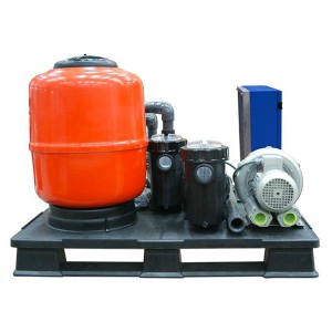 Kit 50 Compacto Astralpool para Spas Públicos Rebosadero