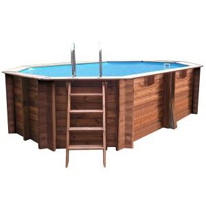 Piscina madeira Gre Sunbay  551x351x119