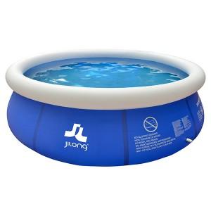 Piscina hinchable marín blue 300x76cm jilong circular
