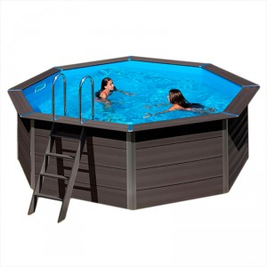 Piscina desmontable madera Composite Gre