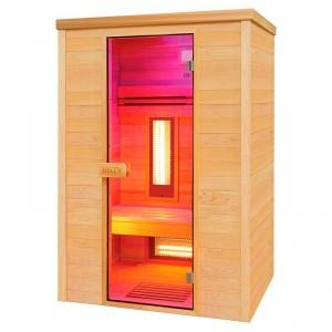 Sauna infrarrojos Multiwave 2 cromoterapia