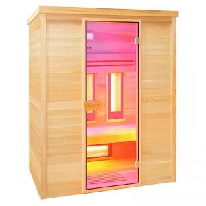 Sauna infrarrojos Multiwave 3 cromoterapia
