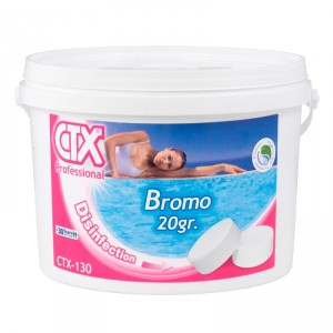 Bromo tabletas 20 g CTX-130