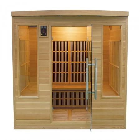 Sauna Infravermelhos Apollon Club 4/5 Lugares