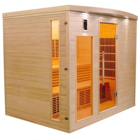 Sauna Infravermelhos Apollon 5 Lugares