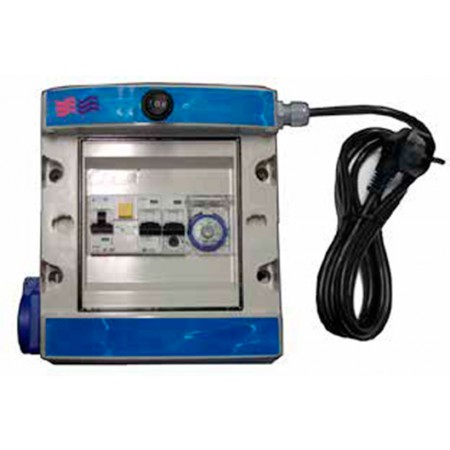 Cuadro eléctrico para piscinas elevadas de Coytesa
