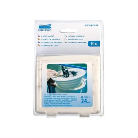 Kit 10 filtros Skimmer Gre