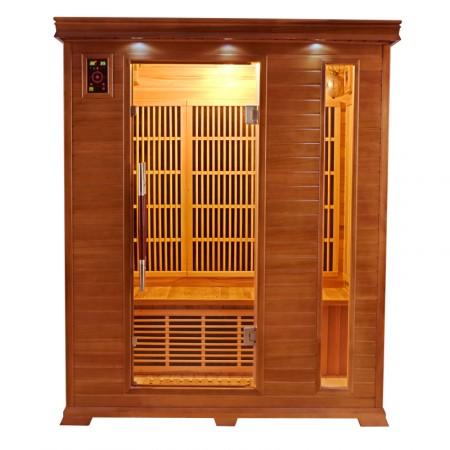 Sauna Infravermelhos Luxe 3 Lugares