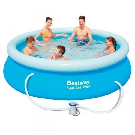Piscina Hinchable Bestway Fast Set 305x76