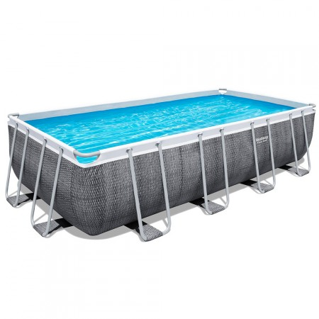 Piscina Power Steel rattan 488 x 244 x 122 cm