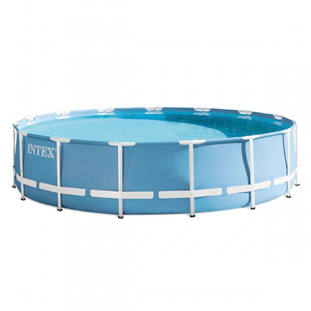 Piscina metal Frame 457 x 107cm Intex