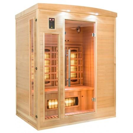 Sauna Infra-vermelhos Apollon Quartz 3 Lugares