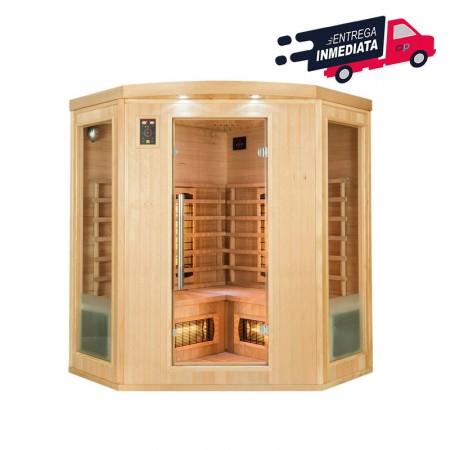Sauna Infra-vermelhos Apollon Quartz 3/4 Pessoas