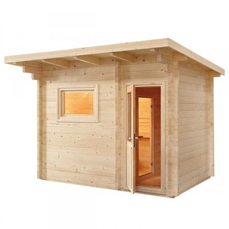 Sauna Exterior Lava de Sentiotec