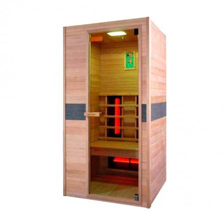 Sauna de infra-vermelhos Jade individual