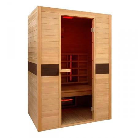 Sauna de infra-vermelhos Ruby Dupla