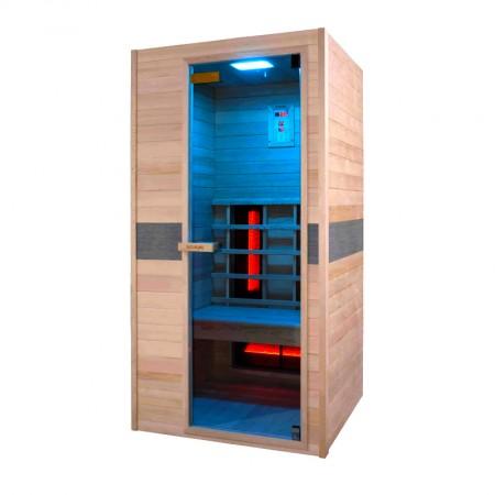Sauna de infra-vermelhos Ruby individual