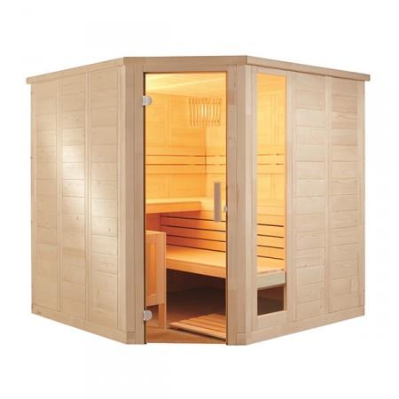 Sauna Tradicional de Vapor Komfort Corner