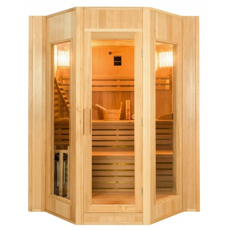 Sauna a Vapor Zen - 4 Pessoas