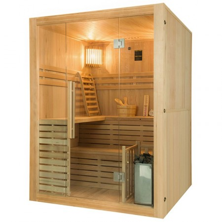 Sense Sauna de vapor para 4 plazas