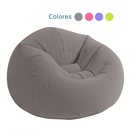 Sillón hinchable Beanless Bag Club colores