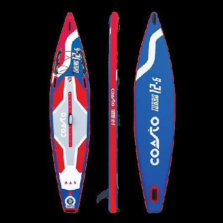 Tábua Turbo 12.6 Paddle surf insuflável
