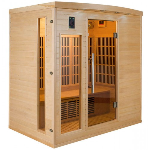Sauna Infravermlhos Apollon 4 Lugares