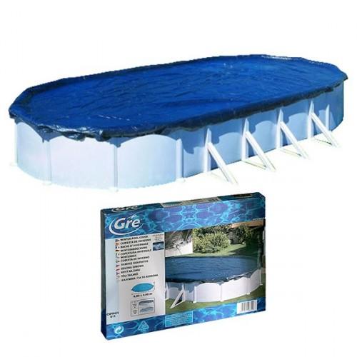 Cubierta de invernaje GRE piscinas ovaladas