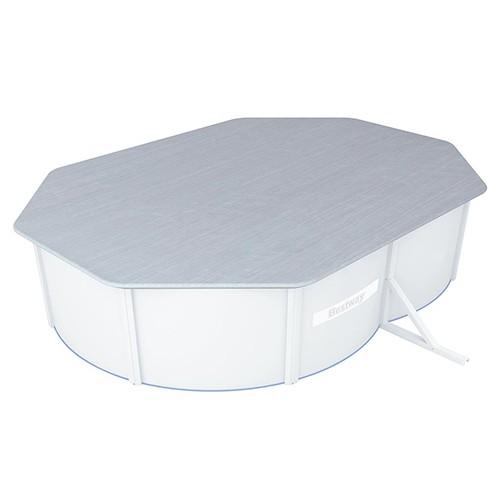 Cobertor para Piscina de Acero Ovalada Bestway