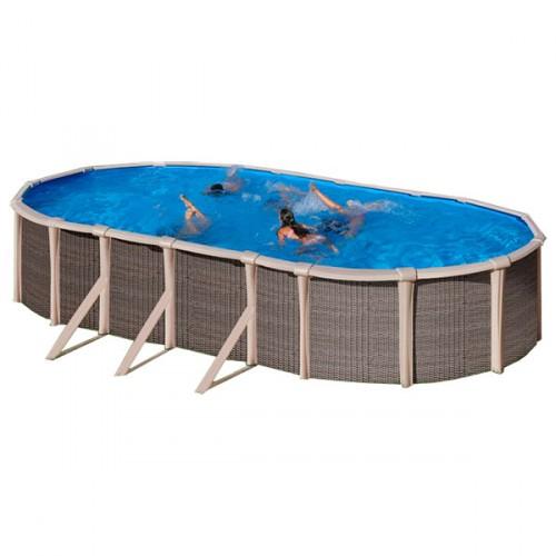 Piscina híbrida Fusion Pool ovalada Gre