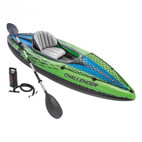 Kayak hinchable Challenger K1 intex