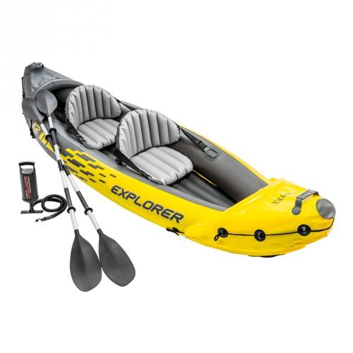 Kayak hinchable Explorer K2 de Intex