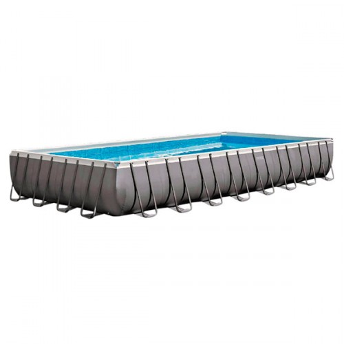 Piscina rectangular ultra Frame 975 x 488 x 132 cm Piscinas intex - 54990