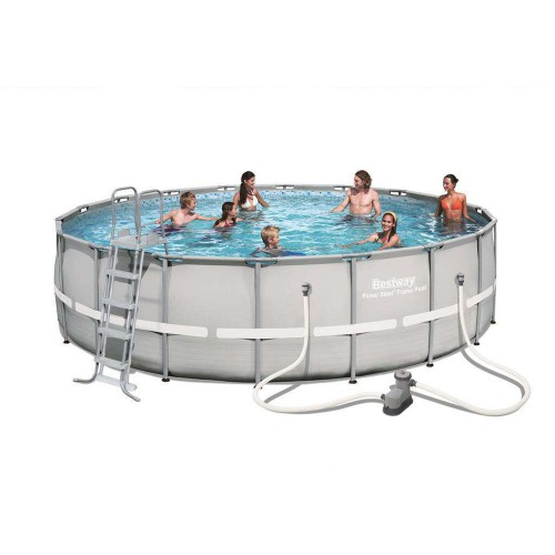 Piscina Bestway Power Steel Ø 549x132