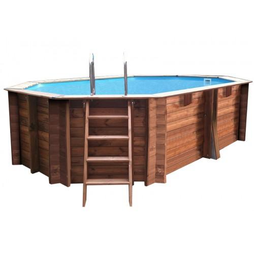 Piscina Gre de madeira Sunbay